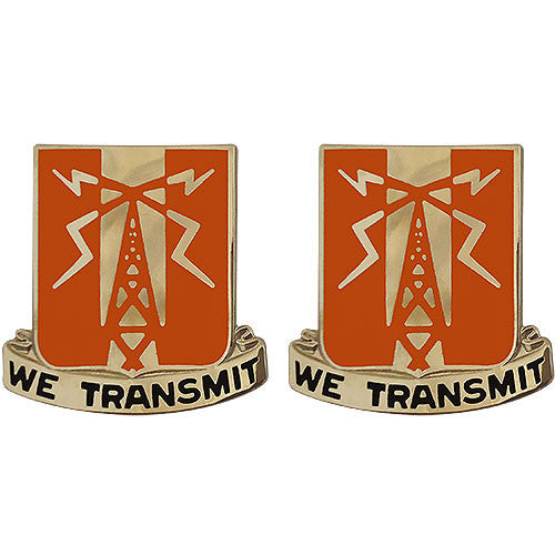 52nd Signal Battalion Unit Crest (We Transmit)