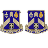 58th Infantry Regiment Unit Crest (Love of Country)