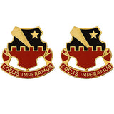60th ADA (Air Defense Artillery) Regiment Unit Crest (Coelis Imperamus)