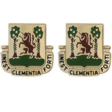 61st Medical Battalion Unit Crest (Inest Clementia Forti)