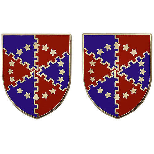 62nd ADA (Air Defense Artillery) Regiment Unit Crest (No Motto)