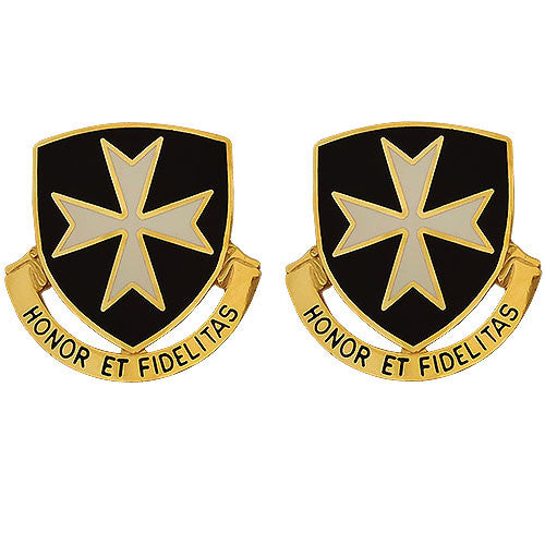 65th Infantry Regiment Unit Crest (Honor Et Fidelitas)