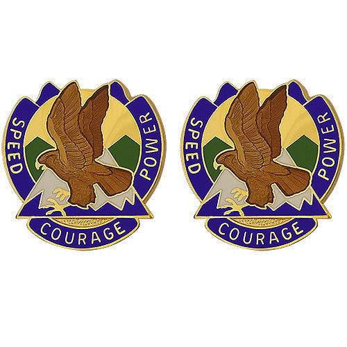 66th Theater Aviation Command Unit Crest (Speed Courage Power)