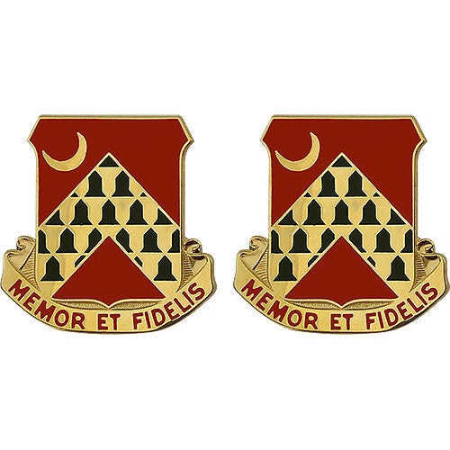 67th ADA (Air Defense Artillery) Unit Crest (Memor Et Fidelis)