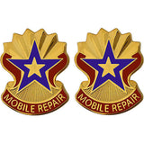 71st Maintenance Battalion Unit Crest (Mobile Repair)