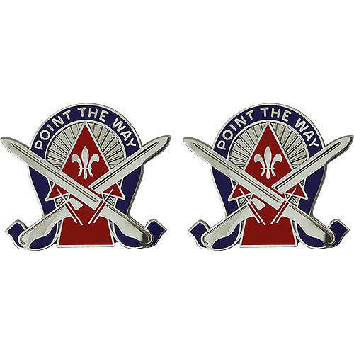 76th Infantry Brigade Combat Team Unit Crest (Point the Way)
