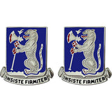 77th Armor Regiment Unit Crest (Insiste Firmiter)