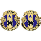 81st Regional Readiness Command Unit Crest (Train Maintain Sustain)