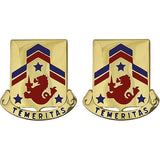 82nd Cavalry Regiment Unit Crest (Temeritas)
