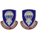 82nd Sustainment Brigade Unit Crest (Supporting Freedom)