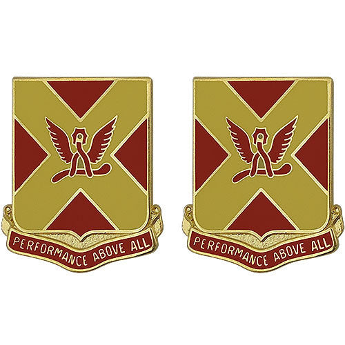 84th Field Artillery Regiment Unit Crest (Performance Above All)