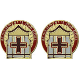 86th Combat Support Hospital Unit Crest (Achievement is Our Goal)