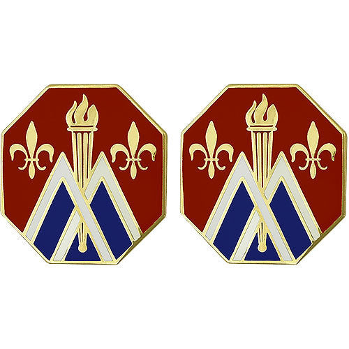89th Sustainment Brigade Unit Crest (No Motto)