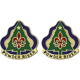 91st Training Division Unit Crest (Powder River)