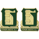 91st Military Police Battalion Unit Crest (Honor Above All)