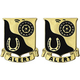 91st Cavalry Regiment Unit Crest (Alert)