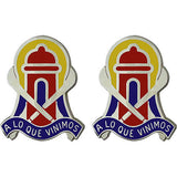 92nd Maneuver Enhancement Brigade Unit Crest (A Lo Que Vinimos)