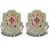 96th Support Battalion Unit Crest (Provision Made)