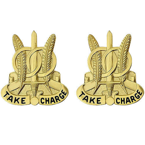 97th Military Police Battalion Unit Crest (Take Charge)