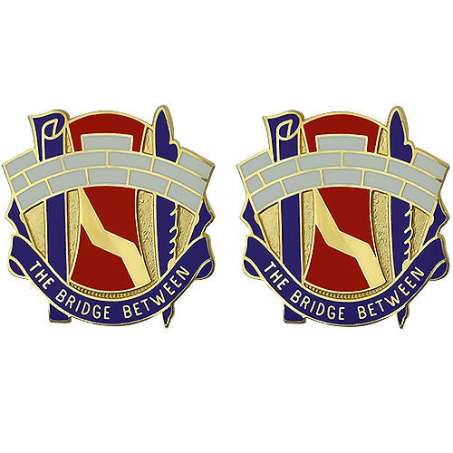 98th Civil Affairs Battalion Unit Crest (The Bridge Between)