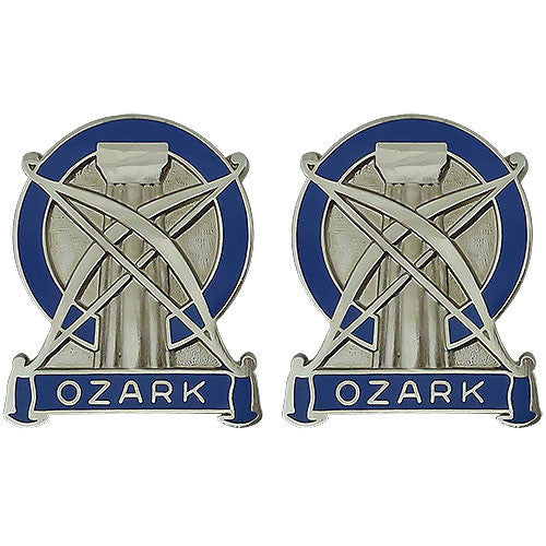 102nd Training Division (Maneuver Support) Unit Crest (Ozark)