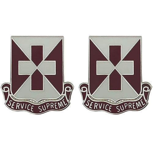 106th Medical Battalion Unit Crest (Service Supreme)