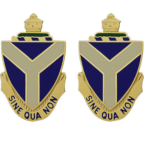 108th Sustainment Brigade Unit Crest (Sine Qua Non)