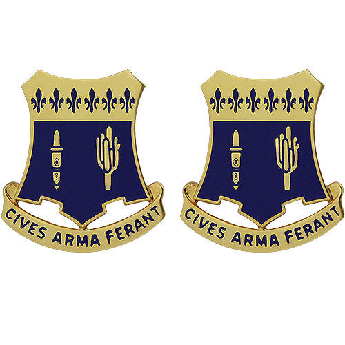 109th Infantry Regiment Unit Crest (Cives Arma Ferant)