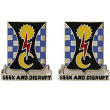 109th Military Intelligence Battalion Unit Crest (Seek and Disrupt)