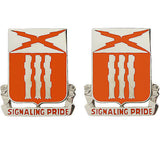 111th Signal Battalion Unit Crest (Signaling Pride)