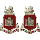113th Engineer Battalion Unit Crest (Service and Fidelity)