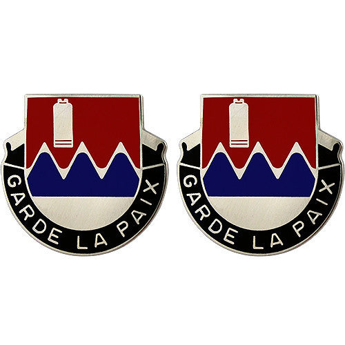 115th Engineer Battalion Unit Crest (Garde La Paix)