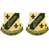 117th Military Police Battalion Unit Crest (Our History, Our Strength)