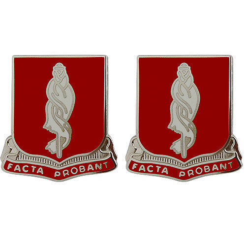 118th Military Police Battalion Unit Crest (Facta Probant)