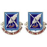 120th Adjutant General Battalion Unit Crest (We Set the Example)