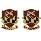 121st Engineer Battalion Unit Crest (Praevius)
