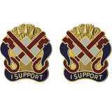122nd Support Group Unit Crest (I Support)