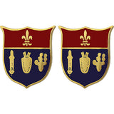 125th Field Artillery Regiment Unit Crest (No Motto)