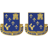 129th Regiment Unit Crest (Pro Maiore Securitate)
