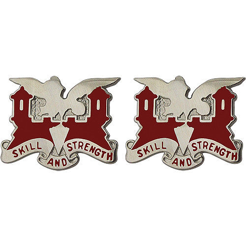 130th Engineer Battalion Unit Crest (Skill and Strength)