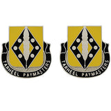 130th Finance Battalion Unit Crest (Tarheel Paymasters)