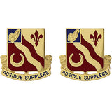 134th Brigade Support Battalion Unit Crest (Adsidue Supplere)