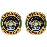 376th Aviation Regiment Unit Crest (Appugno Formido)