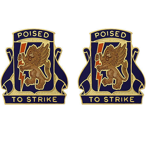 135th Aviation Regiment Unit Crest (Poised to Strike)