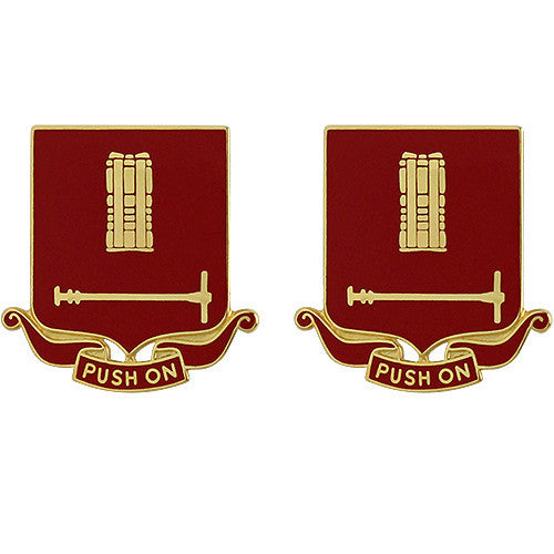 136th Field Artillery Regiment Unit Crest (Push On)