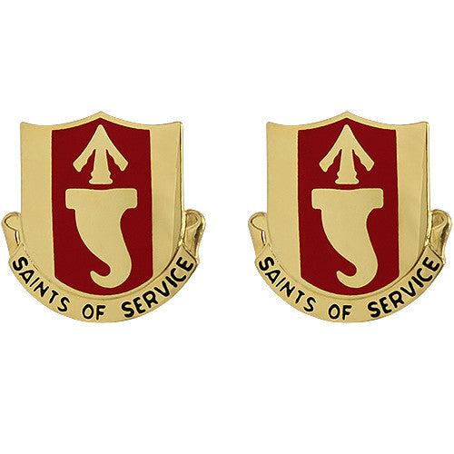 146th Signal Battalion Unit Crest (Saints of Service)