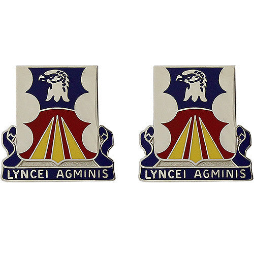 147th Aviation Battalion Unit Crest (Lyncei Agminis)