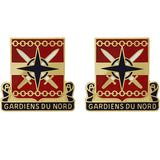 147th Personnel Services Battalion Unit Crest (Gardiens Du Nord)