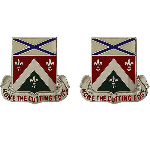 148th Support Battalion Unit Crest (Hone the Cutting Edge)