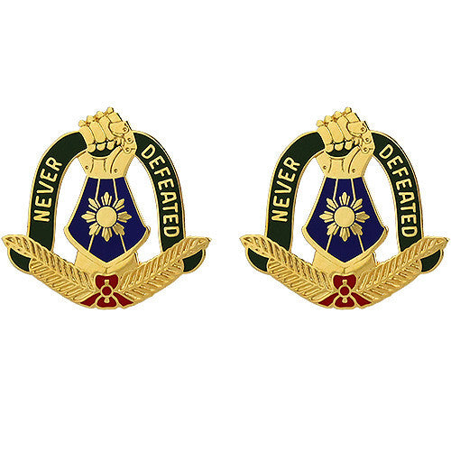 149th Maneuver Enhancement Brigade Unit Crest (Never Defeated)